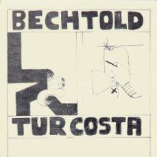 Affissi: BECHTOLD - TUR COSTA. GALERIA 5 IBIZA. Lote 56949443