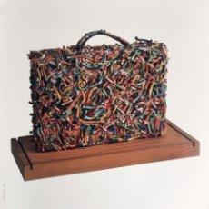 Carteles: CARTEL DE EXPOSICIÓN DE CARMEN CALVO DE 1990. 50X70CM APROX. Lote 57016206