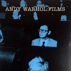 Carteles: POSTER, CARTEL ANDY WARHOL FILMS 45 X 68 CM, EDITADO EN 1990. Lote 57016946