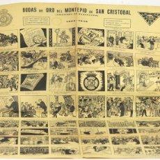 Carteles: LP-269 - AUCA BODAS DE ORO DEL MONTEPIO DE SAN CRISTOBAL(CHOFERES DE BARCELONA). 1906-1956.. Lote 57380409