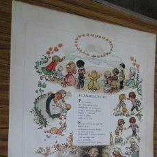 Carteles: EL PADRE NUESTRO -- CARTEL DE 1981. Lote 57391175