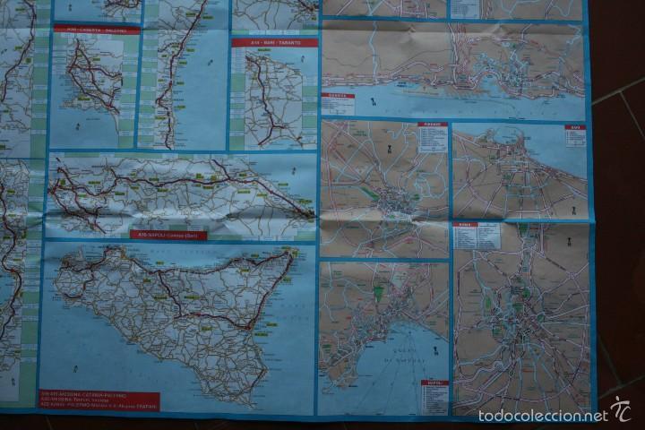 Carteles: TODA ITALIA AUTOSTRADE AUTOSTRADA MAPA MUY COMPLETO DETALLADO CARRETERAS PEAJE - FOTOS ADICIONALES - Foto 11 - 57855839