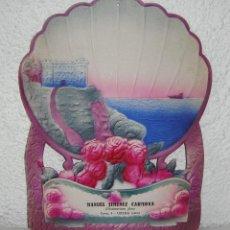 Carteles: ANTIGUO CARTEL PUBLICITARIO DE CARTON TROQUELADO. ULTRAMARINO. MANUEL JIMENEZ CARMONA. UBEDA - JAEN.. Lote 58070297