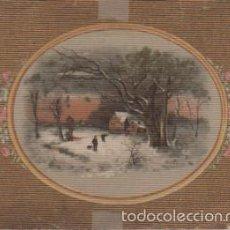 Carteles: LAMINA PAPER TELA - MODERNISTA 1897 PARIS - FRANCIA -. Lote 58430336