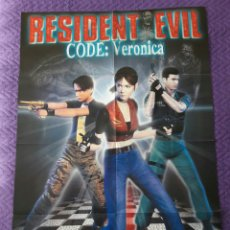 Carteles: PÓSTER RESIDENT EVIL CODE VERONICA. Lote 64712881