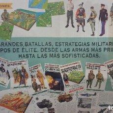 Carteles: CARTEL PÓSTER BATALLAS DE LA HISTORIA OSPREY MILITAR. Lote 64777783