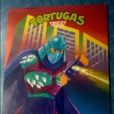 Carteles: TORTUGAS NINJA TMNT POSTER Nº 6 MATUTANO AÑO 1990 MIRAGE STUDIOS. Lote 65684018
