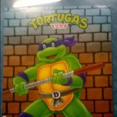 Carteles: TORTUGAS NINJA TMNT POSTER Nº 13 MATUTANO AÑO 1990 MIRAGE STUDIOS. Lote 65685122