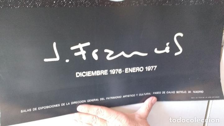 Carteles: RARO CARTEL TORNEADO A DOS CARAS, EXPOSICION GALERIA DE J.FRANCES. 1977,1978 - Foto 2 - 65873114