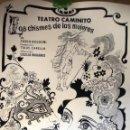 Carteles: CARTEL DEL MITICO TEATRO CAMINITO DE BUENOS AIRES, ARGENTINA AÑO 1972, ILUSTRADOR BENITEZ. Lote 66464154