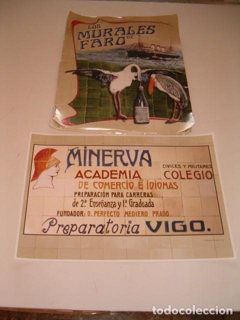 LOS MURALES DE FARO. RMT77603. (Coleccionismo - Carteles Gran Formato - Carteles Varios)