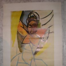 Carteles: CARTEL PICASSO 1977 EXPOSICION MUSEO PICASSO. Lote 68784469