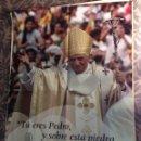 Carteles: POSTER VISITA DEL PAPA RATZINGER A VALENCIA JULIO DEL 2011. Lote 69266683