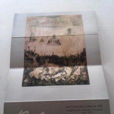 Carteles: MARIANO RUBIO - BILBILITANO - CARTEL EXPOSICION ZARAGOZA AÑO 1990 - VER FOTOS Y EL HISTORIAL. Lote 70387465