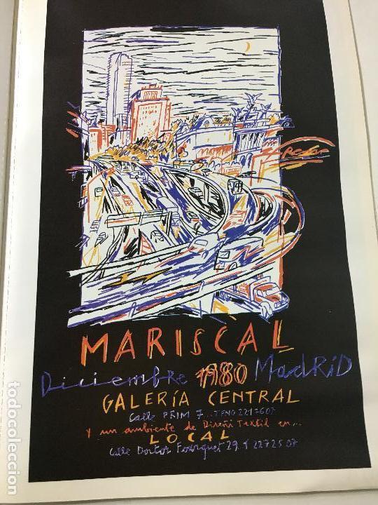 Carteles: MARISCAL GRAFIC POSTER, 15 CARTELES DE 30 X 42 CM. AÑOS 80 - Foto 4 - 73443039