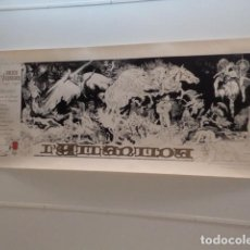 Carteles: CARTEL L'ATLÀNTIDA (JACINT VERDAGUER) - ESTEBAN MAROTO - AÑO 1978. Lote 74579927