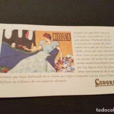 Carteles: PUBLICIDAD CODORNIU. Lote 76398723