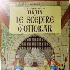 Carteles: POSTER TINTIN - PELICULA : LE SCEPTRE D'OTTOKAR. Lote 79620597