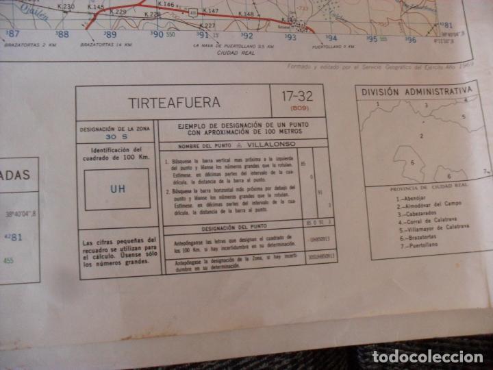 Carteles: cartel,mapa servicio geografico ejercito tirteafuera - Foto 2 - 80101549