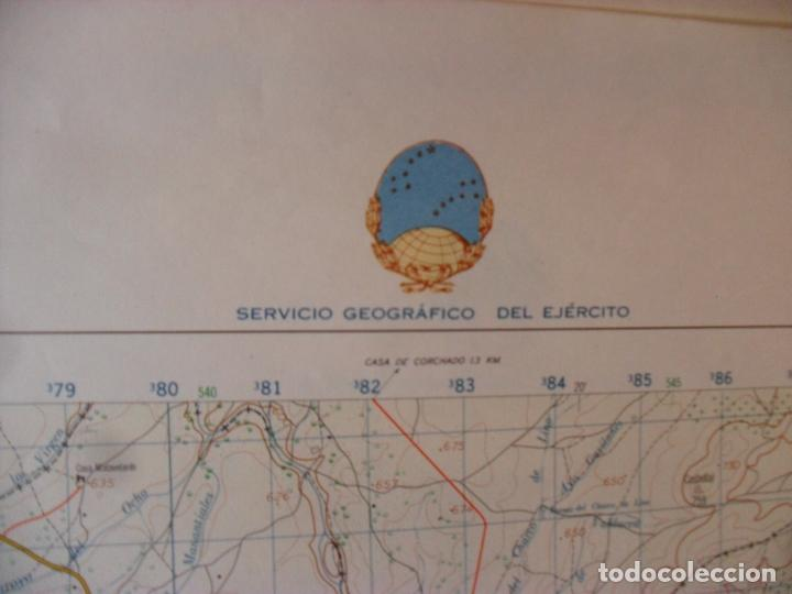 Carteles: cartel,mapa servicio geografico ejercito tirteafuera - Foto 4 - 80101549