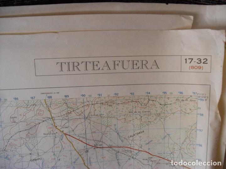 Carteles: cartel,mapa servicio geografico ejercito tirteafuera - Foto 5 - 80101549