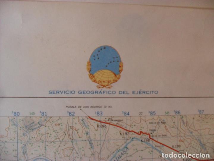 Carteles: cartel,mapa servicio geografico ejercito abenojar - Foto 3 - 80101725
