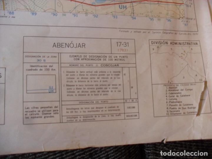 Carteles: cartel,mapa servicio geografico ejercito abenojar - Foto 5 - 80101725
