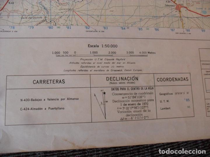 Carteles: cartel,mapa servicio geografico ejercito abenojar - Foto 6 - 80101725