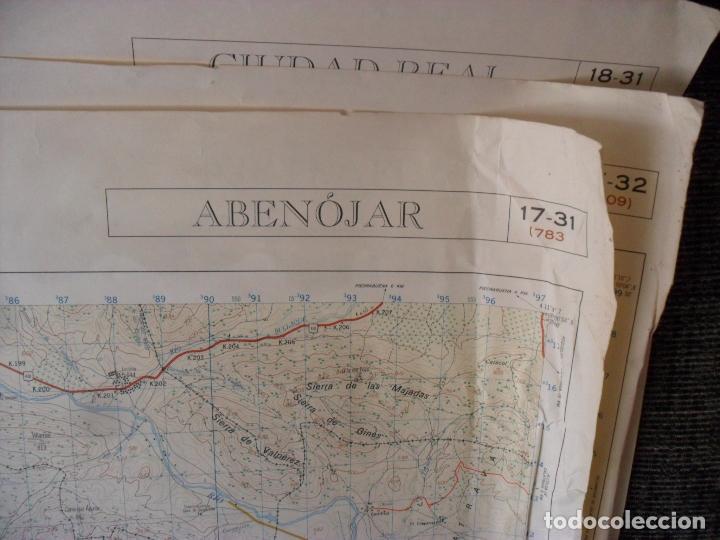 Carteles: cartel,mapa servicio geografico ejercito abenojar - Foto 7 - 80101725