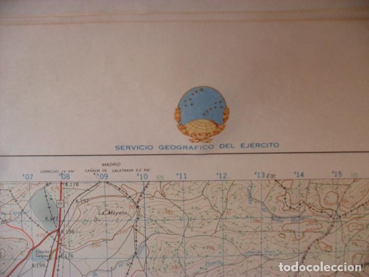 Carteles: cartel,mapa,servicio geografico ejercito,puertollano gran tamaño - Foto 2 - 80167533