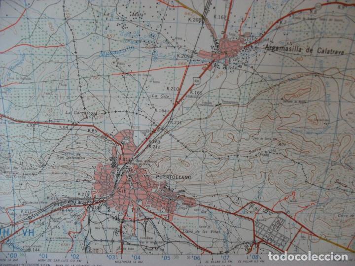Carteles: cartel,mapa,servicio geografico ejercito,puertollano gran tamaño - Foto 3 - 80167533