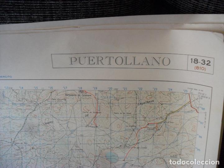 Carteles: cartel,mapa,servicio geografico ejercito,puertollano gran tamaño - Foto 4 - 80167533
