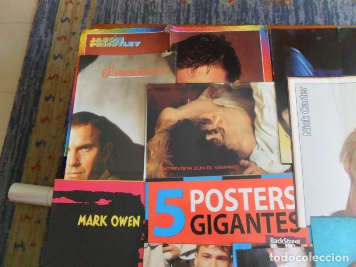 Carteles: LOTE 40 CARTEL PÓSTER REVISTA SUPER POP AÑOS 90. REGALO 15 DE REVISTA BRAVO. - Foto 2 - 80491197