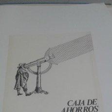 Carteles: CAIXA D´ESTALVIS DE SABADELL AYUDAS PARA ESTUDIOS SUPERIORES CURSO 1973-1974 ANDREU CASTELLS ARTGRAF. Lote 80702258