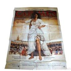 Carteles: CARTEL ORIGINAL DE LA PELÍCULA CARMEN (1984).. Lote 82396279