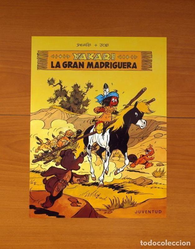 EDITORIAL JUVENTUD - YAKARI, LA GRAN MADRIGUERA - POSTER TAMAÑO 28,5X38 (Coleccionismo - Carteles Gran Formato - Carteles Varios)
