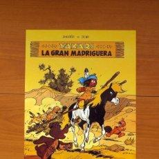 Carteles: EDITORIAL JUVENTUD - YAKARI, LA GRAN MADRIGUERA - POSTER TAMAÑO 28,5X38. Lote 82433400