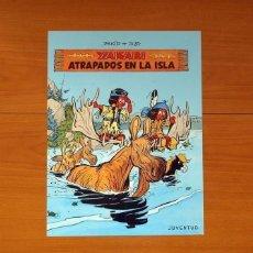 Carteles: EDITORIAL JUVENTUD - YAKARI, ATRAPADOS EN LA ISLA - POSTER TAMAÑO 28,5X38. Lote 82433984