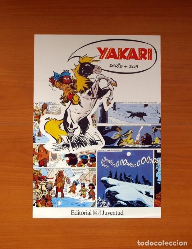 EDITORIAL JUVENTUD - YAKARI - POSTER TAMAÑO 30,5X44 (Coleccionismo - Carteles Gran Formato - Carteles Varios)
