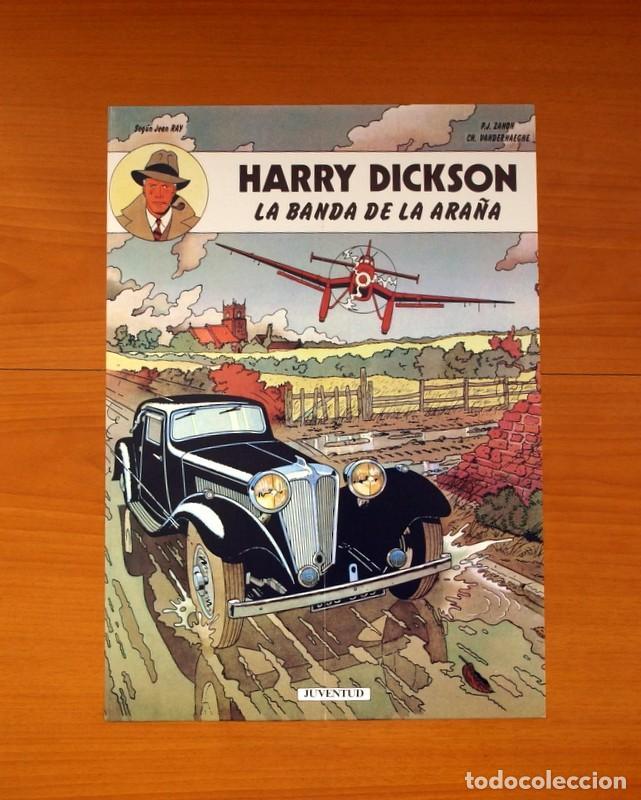 EDITORIAL JUVENTUD - HARRY DICKSON, LA BANDA DE LA ARAÑA - POSTER TAMAÑO 31X44 (Coleccionismo - Carteles Gran Formato - Carteles Varios)