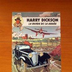 Carteles: EDITORIAL JUVENTUD - HARRY DICKSON, LA BANDA DE LA ARAÑA - POSTER TAMAÑO 31X44. Lote 82438284