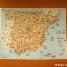 Carteles: ESPAÑA - ATLAS DE ESPAÑA - PANORAMA - PÓSTER TAMAÑO 63X48. Lote 82473960