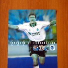 Carteles: ESPÍRITU DE COMPETICIÓN - VALENCIA F.C. - LUANVI - PÓSTER TAMAÑO 45X69 . Lote 82832968