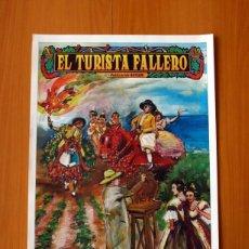 Carteles: EL TURISTA FALLERO - PUBLICACIÓN BAYARRI - PÓSTER TAMAÑO 45X63 . Lote 82833292