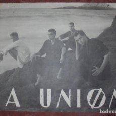 Carteles: CARTEL. LA UNION. GRUPO MUSICAL. 68 X 98 CM. Lote 83911704