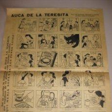 Carteles: AUCA DE LA TERESITA. Lote 168616485