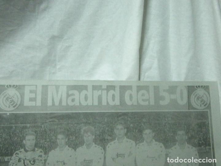 Carteles: CARTEL DE CHAPA DEL REAL MADRID-5-O ,,-CHAPA-ALUMINIO - Foto 3 - 84498472