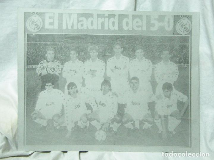 Carteles: CARTEL DE CHAPA DEL REAL MADRID-5-O ,,-CHAPA-ALUMINIO - Foto 4 - 84498472