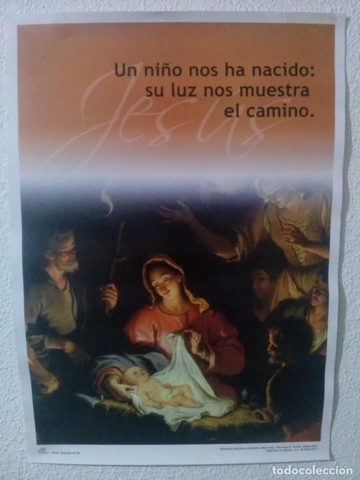 CARTEL RELIGIOSO...NATIVIDAD 2011 (Coleccionismo - Carteles Gran Formato - Carteles Varios)