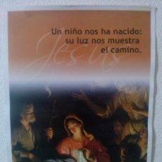 Carteles: CARTEL RELIGIOSO...NATIVIDAD 2011. Lote 84871048